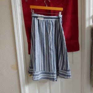 peyton and parker Skirts - Button front knit skirt with pockets